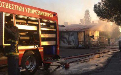 Τραυματισμός Πυροσβέστη εν ώρα καθήκοντος λόγω επίθεσης με ρίψη πέτρας