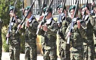 Δειγματοληψία για COVID-19 σε 1,000 μέλη της Εθνικής Φρουράς