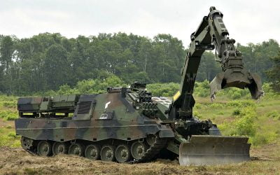 Rheinmetall Defence | Το άρμα Kodiak μπορεί να εξυπηρετήσει τον Στρατό την Πυροσβεστική και την Πολιτική Άμυνα