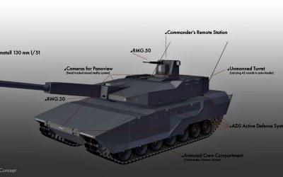 Κύριο σύστημα μάχης εδάφους (MGCS) με συμμετοχή ελληνικής εταιρείας