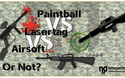 Paintball vs Lasertag vs Airsoft….ή όχι;