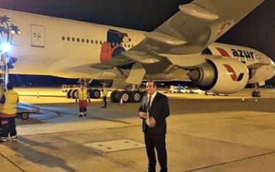 Εφτασε στην Κύπρο με πολύωρη καθυστέρηση το αεροσκάφος με ιατρικό υλικό από την Κίνα | Φωτογραφίες