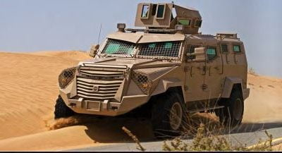 INKAS Vehicles | Hornet 4×4 APC