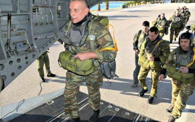 Επιχειρησιακό Άλμα για τον Α/ΓΕΕΘΑ Στρατηγό Κωνσταντίνο Φλώρο | Video & Φωτογραφίες