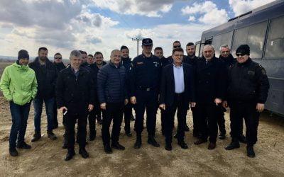 Η AHEPA δωρίζει προστατευτικό εξοπλισμό για τους συνοριοφύλακες της Ελληνικής Αστυνομίας