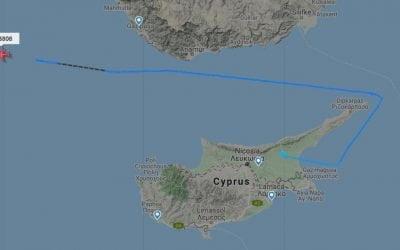 Bayraktar TB2 απογειώθηκε από το κατεχόμενο Λευκόνοικο | Φωτογραφία