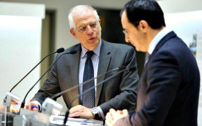 Στην Κύπρο για τις τουρκικές προκλήσεις και τα ευρωτουρκικά ο Γιοσέπ Μπορέλ