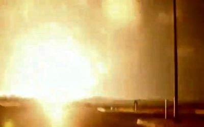 Ισραηλινά αεροπορικά πλήγματα στη Γάζα μετά τις εκτοξεύσεις ρουκετών   VIDEO