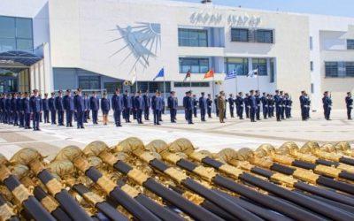 Ορκωμοσία Νέων Ανθυποσμηναγών της Πολεμικής Αεροπορίας | Ανάμεσα τους και 6 Κύπριοι