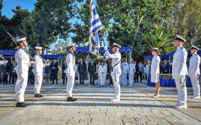 Έλαβαν τα ξίφη τους 43 Σημαιοφόροι του Πολεμικού Ναυτικού – Επτά Κύπριοι ανάμεσα τους | Φωτογραφίες