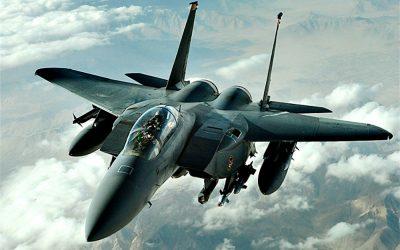 Επεισόδιο μεταξύ αμερικανικού F-15 και επιβατικού αεροσκάφους | VIDEO