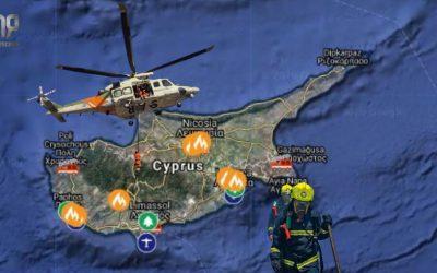 Η δράση της Πυροσβεστικής Υπηρεσίας το τελευταίο 48ωρο | Διαδραστικός Χάρτης