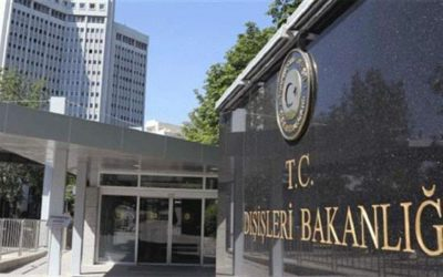 Loud Statements from Turkey's Ministry of Foreign Affairs   Turkey is capable of deterring France in the Mediterranean