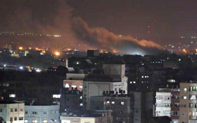 Το Ισραήλ βομβάρδισε εκ νέου θέσεις της Χαμάς στη Λωρίδα της Γάζας   VIDEO