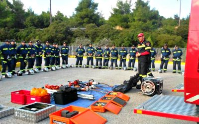 New admissions in the ranks of the Cyprus Fire Service | VIDEO