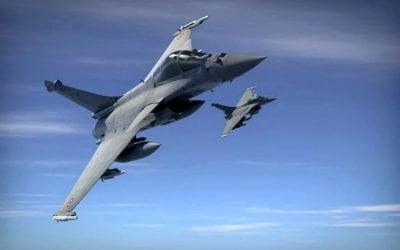 Γαλλικά Μαχητικά Αεροσκάφη Rafale στην Πάφο | Πτήσεις πάνω από την Κύπρο τις επόμενες μέρες