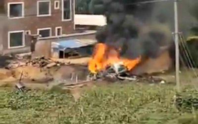Συντριβή κινεζικού SU-35 | Η Ταϊβάν αρνείται τους ισχυρισμούς ότι το κατέρριψε – VIDEO