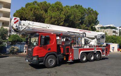 Πυροσβεστική Υπηρεσία Κύπρου | Δείτε το νέο πυροσβεστικό όχημα με δυνατότητα ρίψης νερού από ύψος 60 μέτρων – VIDEO