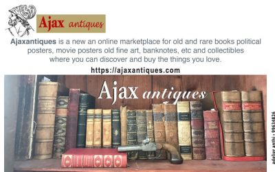 Ajax Antiques | The new website for buying rare military history books and many other collectibles