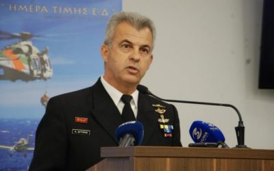 Rear Admiral (Ret) Konstantinos Fytiris | The Thrace-Aegean-Cyprus front must be united