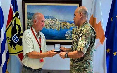Εθελοντής Εθνοφύλακας ετών 70 | Επίκουρος Ταγματάρχης Υποδιοικητής συνεχίζει να υπηρετεί την Εθνική Φρουρά