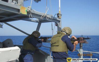 Εκτέλεση πυρών επιφανείας από Εθνική Φρουρά και Αστυνομία Κύπρου – Φωτογραφίες