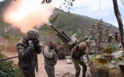Υπ. Άμυνας Αζερμπαϊτζάν | Η πόλη Γκάντζα δέχεται πυρά από αρμενικές δυνάμεις – VIDEO