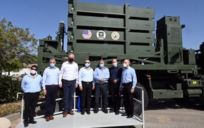 Delivery of the first Iron Dome battery to the US Army – VIDEO