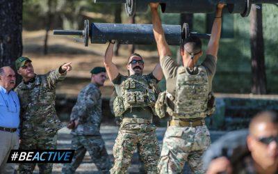 Πλάνα από την εκδήλωση #BeActive | Προσωπικό και στρατιώτες της 33ης Μ.Κ συμμετείχαν στην δράση – Φωτογραφίες