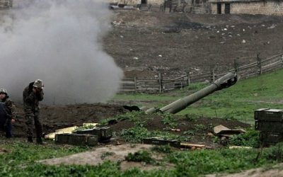 Ongoing hostilities and accusations regarding Nagorno Karabakh