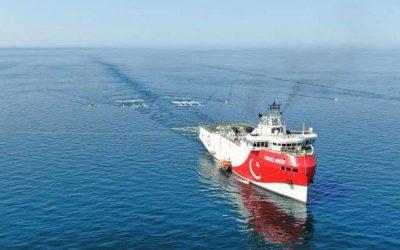 Νέα NAVTEX από Τουρκία για έρευνες «Ορούτς Ρέις» νοτίως του Καστελόριζου