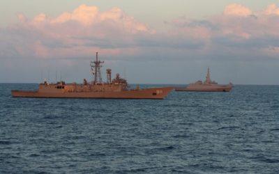 Εικόνες από την συνεκπαίδευση ναυτικών μονάδων Ελλάδας και Αιγύπτου – VIDEO