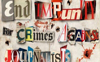 2 Νοεμβρίου | Διεθνής ημέρα για τον τερματισμό της ατιμωρησίας για τα εγκλήματα κατά των δημοσιογράφων – VIDEO