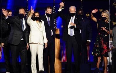 Τζο Μπάιντεν   Ο 46ος Πρόεδρος των Η.Π.Α απευθύνει μήνυμα εθνικής συμφιλίωσης – Ιστορική εκλογή της πρώτης γυναίκας αντιπροέδρου