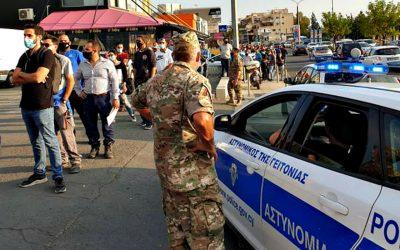 Διευκρινίσεις για το προσωπικό της Εθνικής Φρουράς που μετακινείται από και προς τις επαρχίες Λεμεσού και Πάφου.