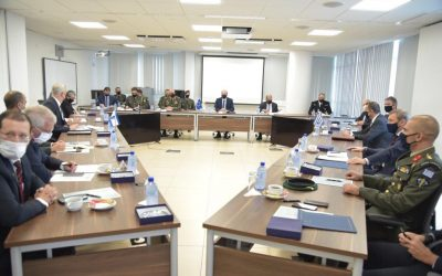National Guard General Staff and MoD Executives in self-restraint