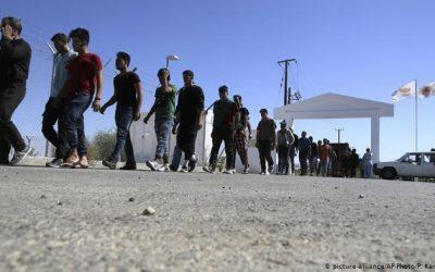 Νέα άφιξη μεταναστών μεταξύ των χωριών Πωμού – Παχύαμμου