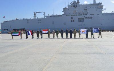 Μεγάλος αριθμός πολεμικών πλοίων, μαχητικών αεροσκαφών και επιθετικών ελικοπτέρων στην τελική φάση της «ΜΕΔΟΥΣΑ 10»