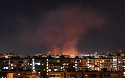 Ένας στρατιωτικός νεκρός, άλλοι τρεις τραυματίες από ισραηλινή επίθεση στη Δαμασκό – VIDEO