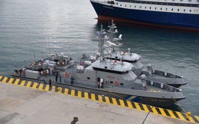 Δύο υπερσύγχρονα νέα περιπολικά σκάφη στη δύναμη του Ελληνικού Λιμενικού Σώματος – Φωτογραφίες & VIDEO