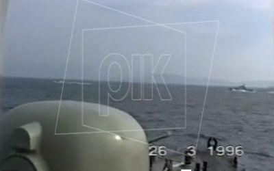 31 Ιανουαρίου 1996 | Ελικόπτερο του Πολεμικού Ναυτικού κατέπεσε κατά τη διάρκεια πτήσης πάνω από τα Ίμια – Το χρονικό της κρίσης VIDEO