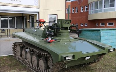 """Marker"" | Η Ρωσία περνά στην εποχή των αυτόνομων ρομποτικών επίγειων συστημάτων μάχης – VIDEO"