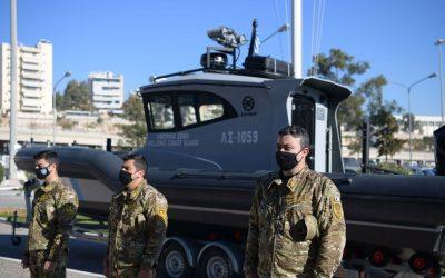 Λιμενικό Σώμα | Παρέλαβε ακόμη δύο υπερσύγχρονα ταχύπλοα περιπολικά σκάφη