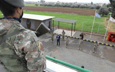 Επισκέψεις Υπουργού Άμυνας σε Φυλάκια ανήμερα της Πρωτοχρονιάς – Φωτογραφίες