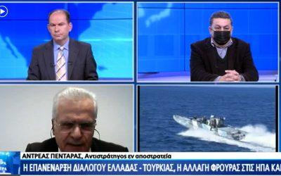 Ανδρέας Πενταράς | Δύσκολο για την Ευρωπαϊκή Ένωση να επιβάλει κυρώσεις στην Τουρκία – VIDEO