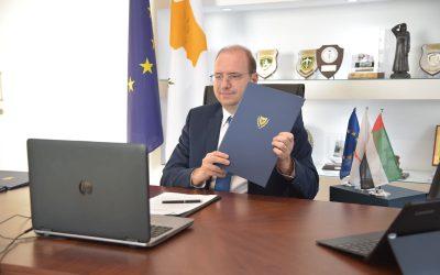 Υπουργείο Άμυνας | Ιστορική συμφωνία αμυντικής και στρατιωτικής συνεργασίας Κύπρου ΗΑΕ – VIDEO