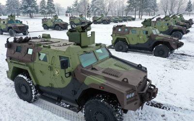 Δέκα νέα θωρακισμένα οχήματα «Miloš» για τον Σερβικό Στρατό – Φωτογραφίες & VIDEO
