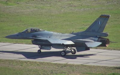 F-16 Viper | The first flight of the upgraded Hellenic Air Force aircraft took place