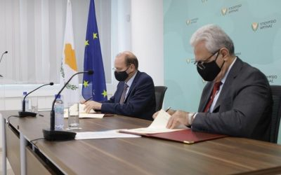 Memorandum of cooperation signed by the Ministry of Defence and the Cyprus Organisation for Standardisation