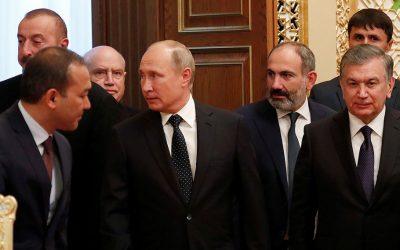 Πούτιν, Αλίεφ και Πασινιάν συζητούν σήμερα για την τύχη του Ναγκόρνο Καραμπάχ
